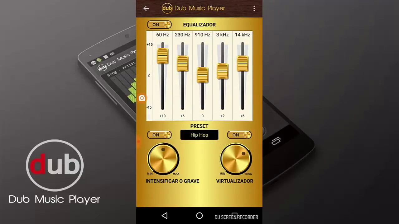 Dub Music Player - Equalizador para android