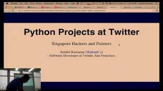 Python in Twitter by Senthil