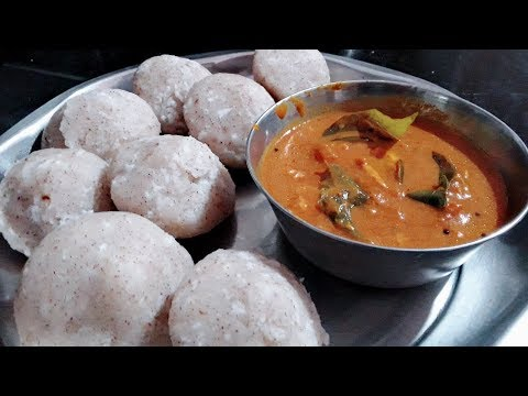 Mangalorean Red Rice Pundi ll Rice Dumplings