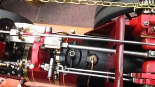 BURRELL 3 INCH PLASTOW TRACTION ENGINE.