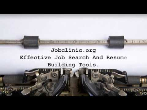Employment expert; effective job search tools
