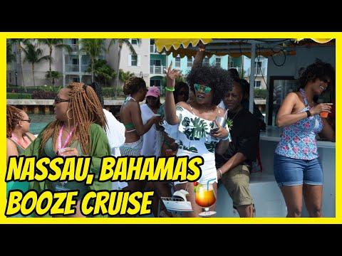 Nassau Bahamas Booze Cruise Vlog  Huddle on the Sea Cruise 2018-Day 3  PrettyPRChickTV