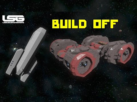 Space Engineers Survival Ship Build Off Youtube