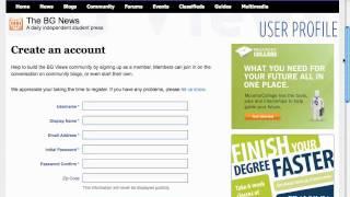 كيفية إنشاء BG آراء حساب
