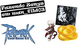 Ragnarok #35 - Fazendo Zenys em man_fild03 [bRO Thor]