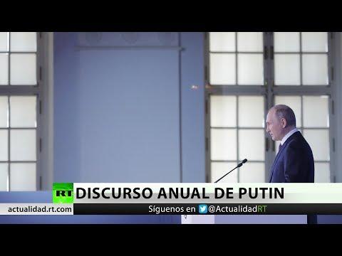 Putin Revela Nuevas Armas Del Ejército Ruso