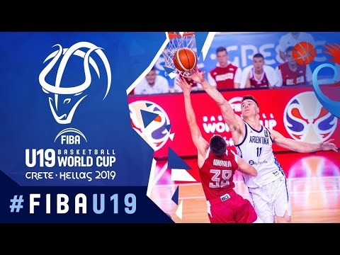 Argentina v Russia - FIBA U19 Basketball World Cup 2019