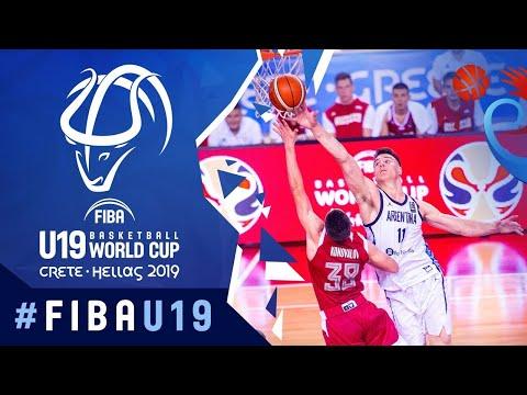 Argentina v Russia - FIBA U19 Basketball World Cup 2019