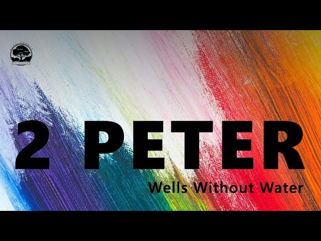 Life Church of Orange CA - Sunday April 11/2021 - Wells Without Water