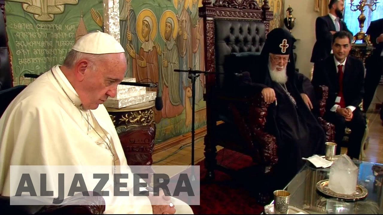 Georgia: Orthodox priests snub pope visit