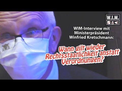 WIM fragt Ministerpräsident Kretschmann: Wann gilt wieder Rechtsstaatlichkeit anstatt Verordnungen?