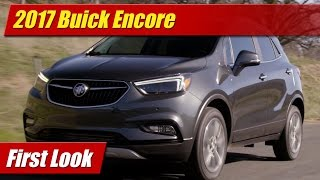 2017 Buick Encore: First Look