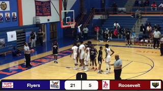 East St Louis IL Flyers / Roosevelt Rough Riders St Louis MO Boys Basketball 12/4/2019