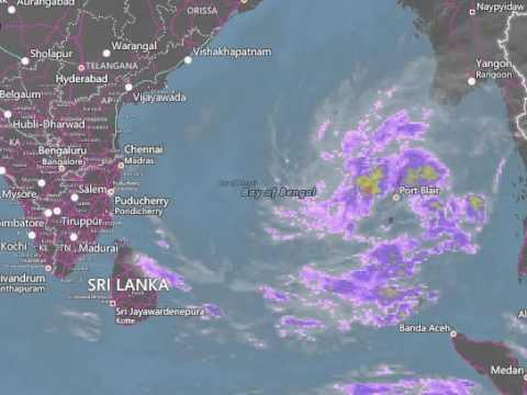 Chennai Weather Map Satellite | Park Map
