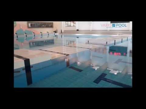 Variopool - Multisection bulkhead swimming pool