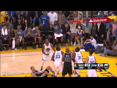 San Antonio Spurs vs Golden State Warriors - Full Game Highlights | April 7, 2016 | NBA 2015-16