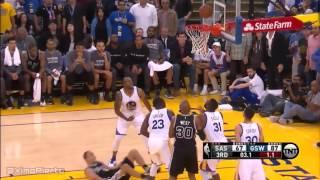 San Antonio Spurs vs Golden State Warriors - Full Game Highlights | April 7, 2016 | NBA 2015-16