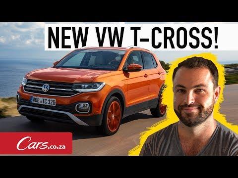 First Drive - New Volkswagen T-Cross - Landing in SA in 2019