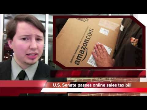 U.S. Senate passes bill to charge sales tax on the Internet