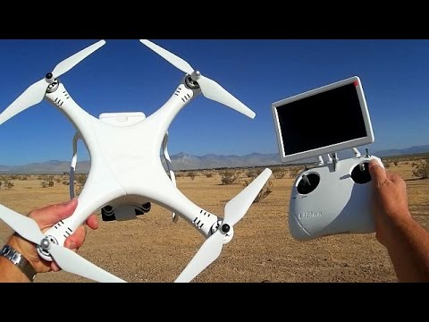 New UPAir One OSD FPV GPS Long Range Explorer Drone Flight Test Review