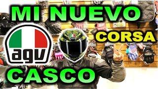 MI NUEVO CASCO AGV CORSA UNBOXING