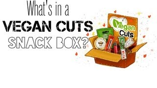 What's In A Vegan Cuts Snack Box? (stop Motion)