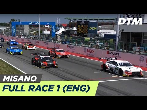 Race 1 (Multicam) - 🔴LIVE (English) - DTM Misano 2019