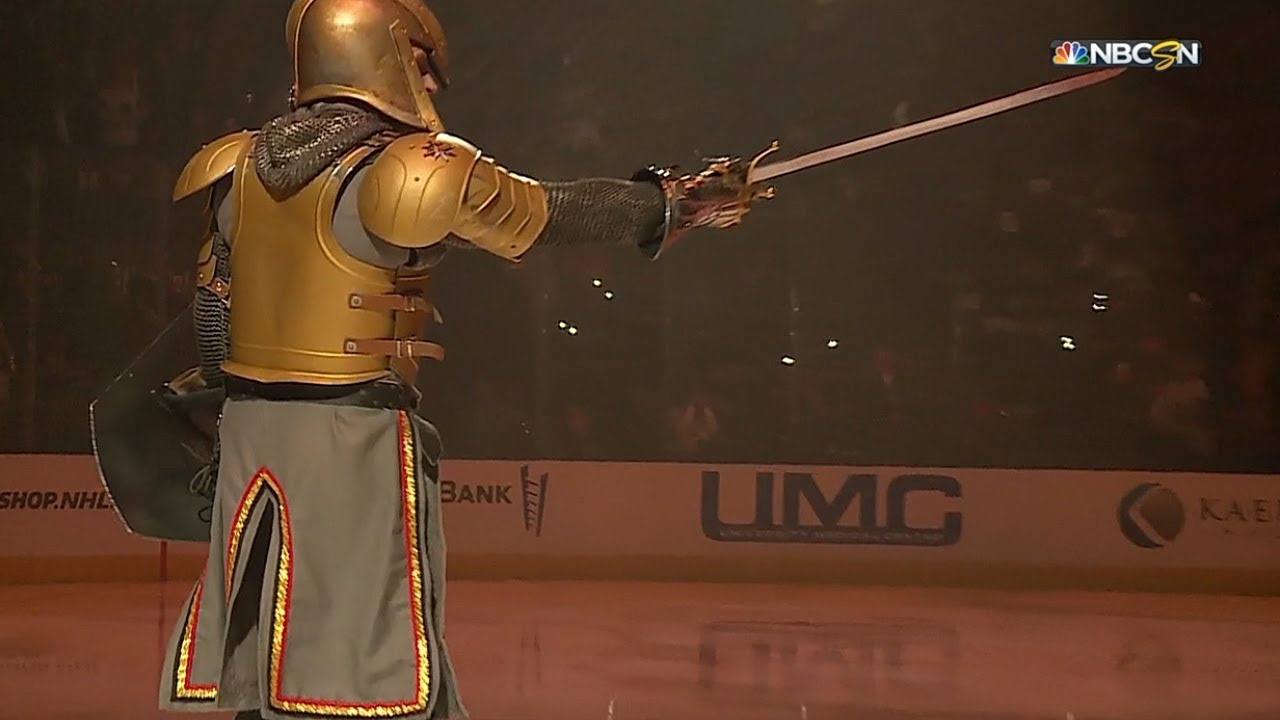 The Golden Knights' playoff pregame show was the most
