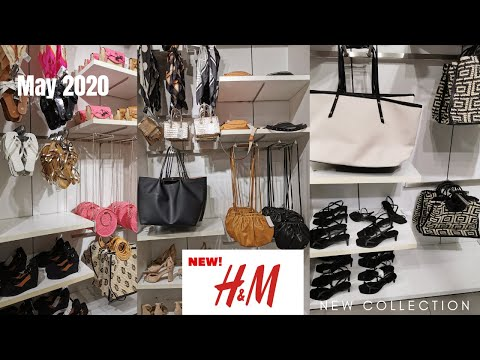 NEW IN H&M SHOES BAGS ACCESSORIES MAY COLLECTION