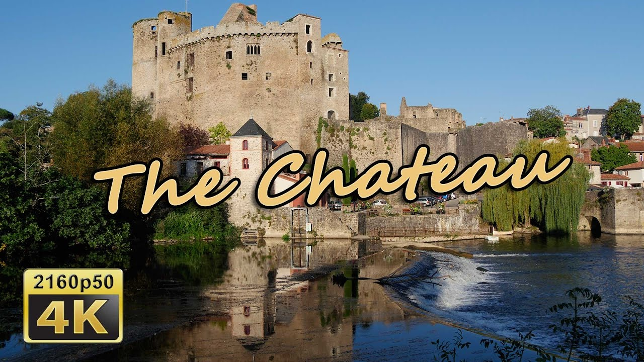 Clisson France  City pictures : Chateau de Clisson France 4K Travel Channel YouTube