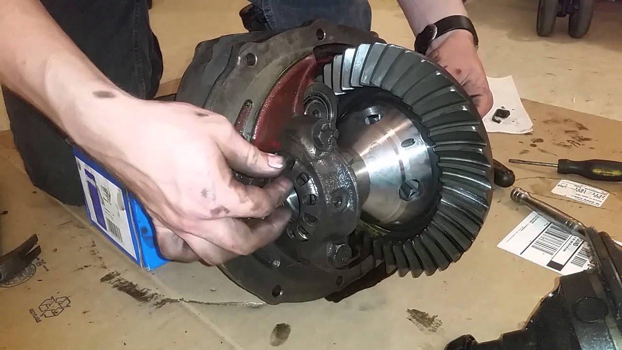 Adding trac loc posi to a ford 9 inch, tracloc conversion