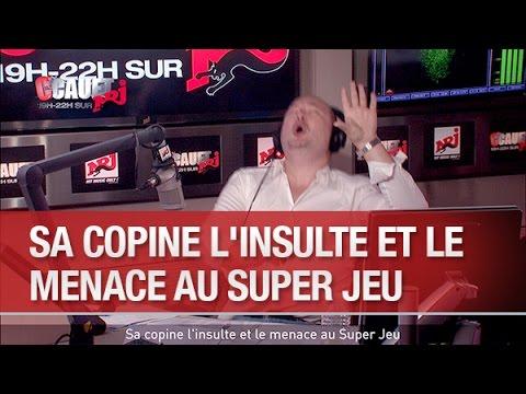 Sa copine l'insulte et le menace au Super Jeu - C'Cauet sur NRJ
