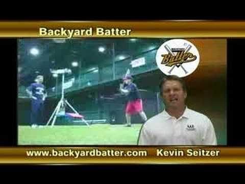 Backyard Batter Seitzer Commercial YouTube - Backyard batter