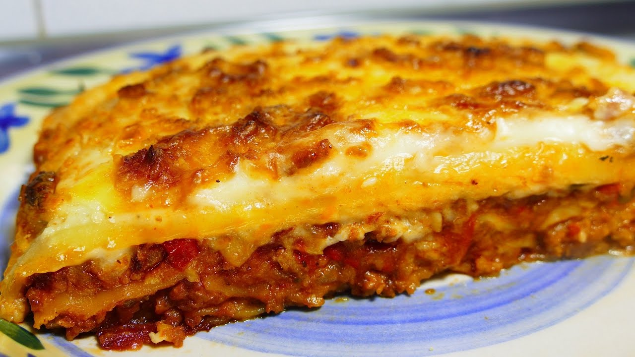 lasagne a la bolognaise facile et rapide recette de cuisine youtube. Black Bedroom Furniture Sets. Home Design Ideas