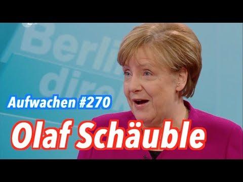 Aufwachen #270: Abschied von Martin Schulz & die Schmerzen von Angela Merkel