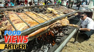 Street Food In Mongolia: Roasting Whole Lamb At The Nomadic BBQ Festival