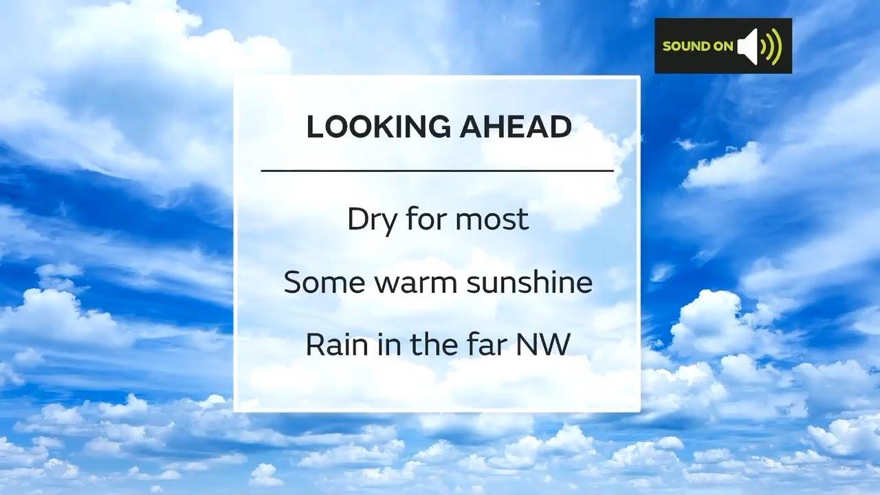 Sunday evening forecast 18/04/2021