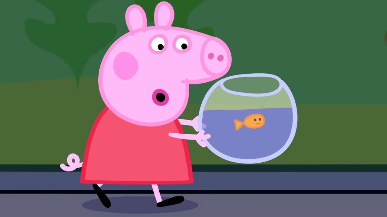 Peppa Pig English Episodes | Peppa goes to the Aquarium | Cartoons for Children #178