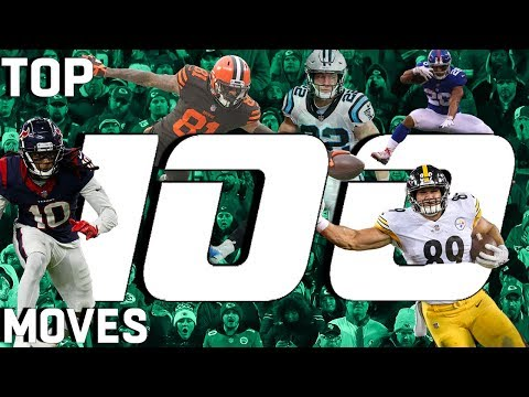 Top 100 Moves (Jukes, Stiff Arms, & Hurdles) of the 2018 Season! | NFL Highlights
