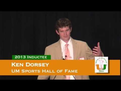 Ken Dorsey acceptance speech