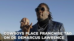Cowboys place franchise tag on DE DeMarcus Lawrence for second straight year