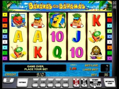 игровой автомат Bananas go Bahamas как играть