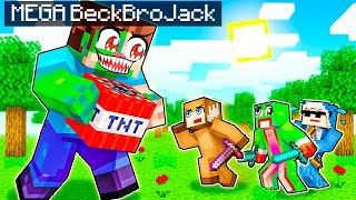DEFEATING MEGA BECKBROJACK in Minecraft with Unspeakable and Shark!