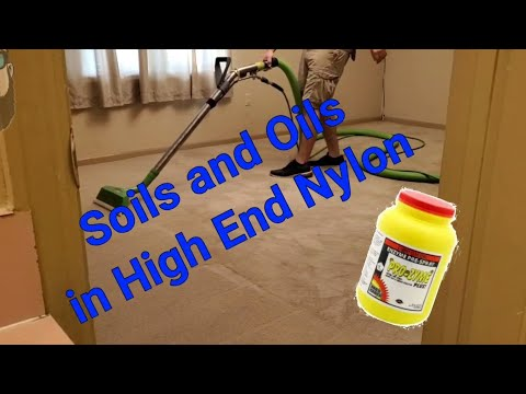 Real Carpet Cleaning- Getting soils and oils out of high end Nylon looking great