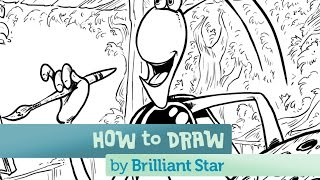 How to Draw Nur the Firefly: A Brilliant Star Series