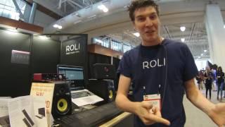 Summer NAMM 2016 - ROLI Seaboard RISE Multidimensional Controller