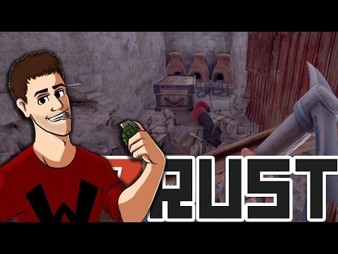HE'S LIVING IN OUR BASE | Rust With Friends Again Part 7