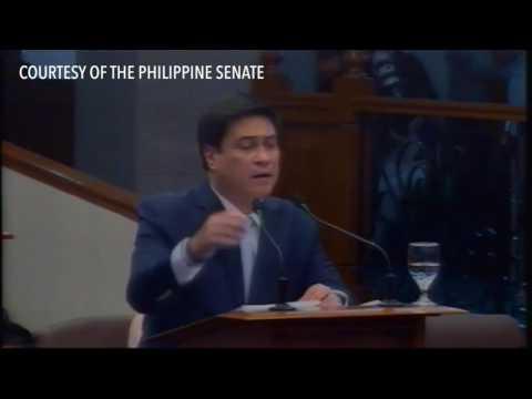 Senator Migz Zubiri challenges Antonio Trillanes to a fight