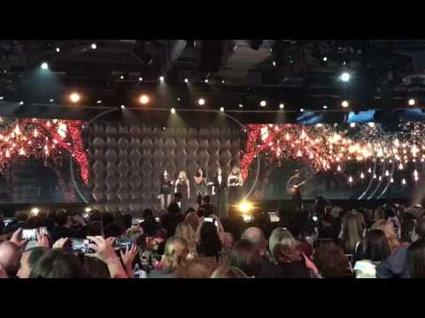 Fifth Harmony performing