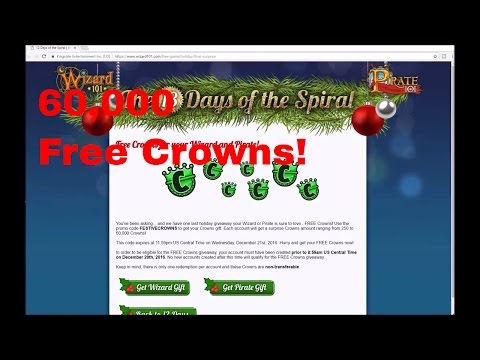 Wizard 101: How to Get FREE CROWNS!! | NO HACKS | 60,000 Crowns for Free! *NOT CLICKBAIT*